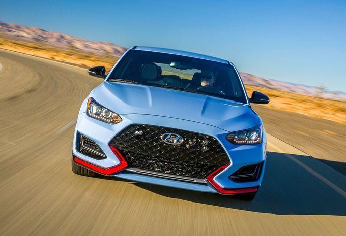 Nieuwe Hyundai Veloster meteen als snelle N #1