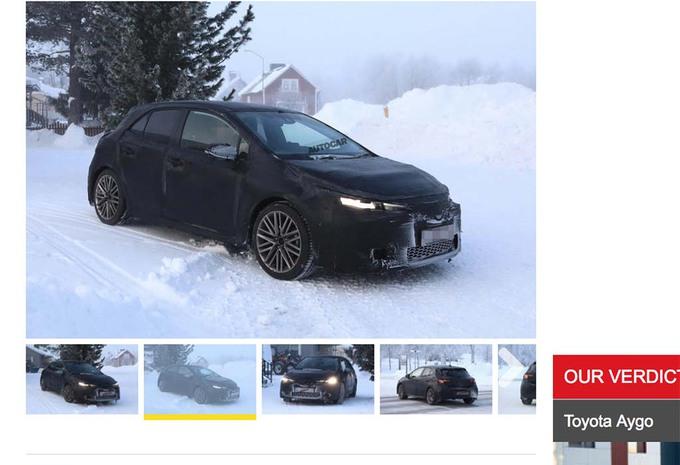 Toyota : Mort de l'Auris, retour de la Corolla #1