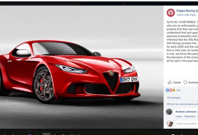 Fotos Alfa Romeo 6C tegen 2020? - AutoGids