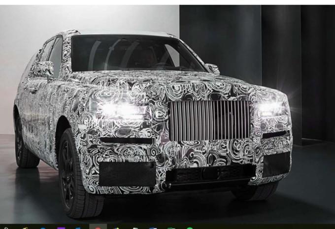Rolls-Royce prêt à dévoiler son SUV ? #1