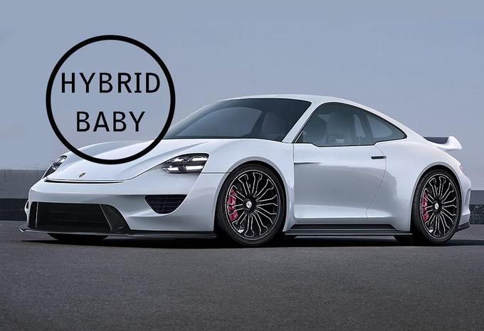 fotos zo krachtig en zo snel wordt de porsche 911 hybrid autowereld. Black Bedroom Furniture Sets. Home Design Ideas