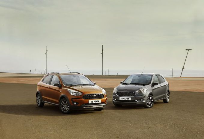 GimsSwiss - Ford Ka+ et Ka+ Active : facelift et crossover #1