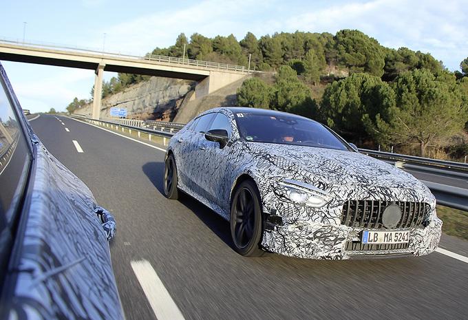 Vierdeurs Mercedes-AMG GT ondergaat laatste testwerk #1