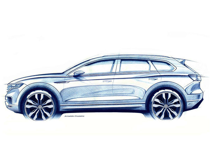 De nieuwe Volkswagen Touareg komt eraan #1