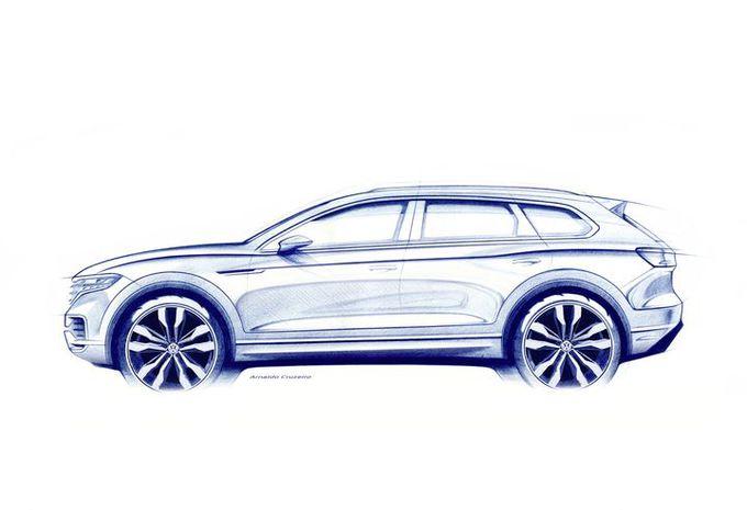 Volkswagen Touareg : teaser de la 3e génération #1