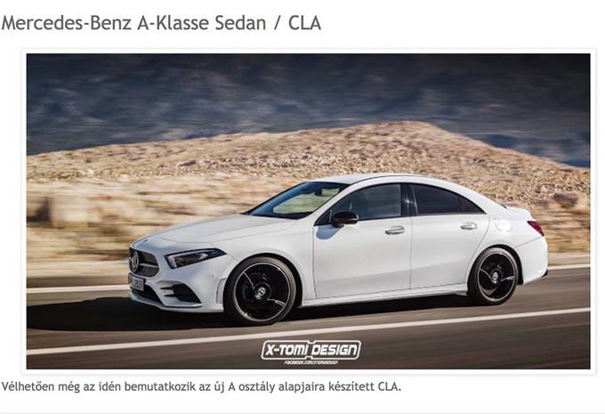 Future Mercedes CLA : Comme ça ? #1