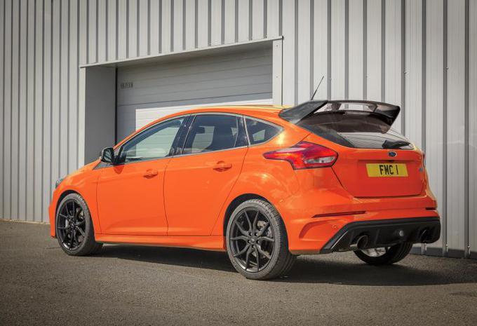 Ford Focus RS neemt afscheid als Heritage Edition #1