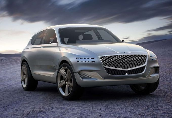 Genesis GV80: luxe-SUV op waterstof #1
