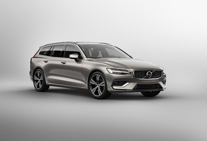Nouveau Volvo V60, le break familial élégant