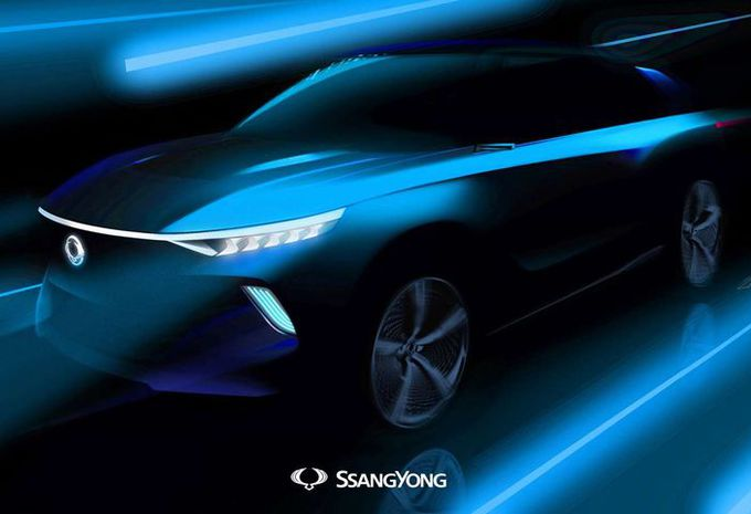 GimsSwiss – SsangYong e-SIV Concept : électrique #1