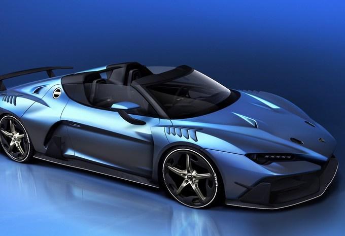 La version roadster sera à Genève — Italdesign ZeroUno