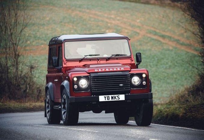 Land Rover Defender V8 : tous les exemplaires déjà vendus !   #1