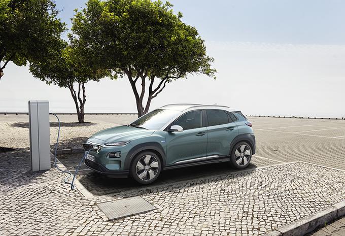 Hyundai Kona Electric komt als Short en Long Range #1