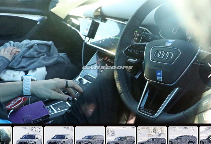 Audi A6 2018: interior leaked | Main Info