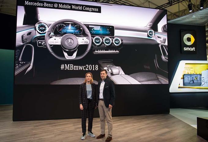 MWC 2018 Live - ESSAI - Mercedes MBUX : un cerveau qui comprend tout #1