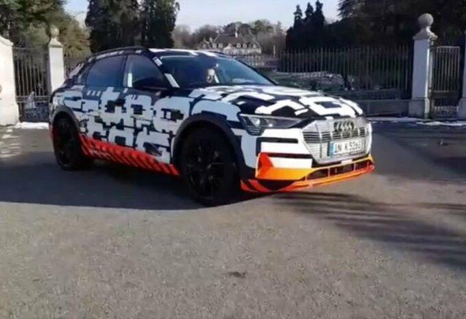 Gims 2018 - Audi e-tron en parade à Genève #1