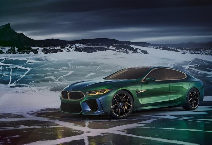 BMW Concept M8 Gran Coupé is middenvinger naar AMG GT 4-deurs Coupé #1