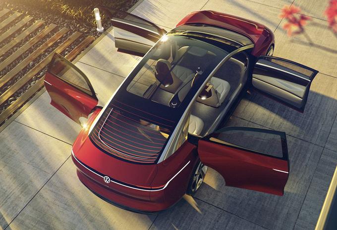 Volkswagen ID Vizzion Concept is de VW Passat van morgen #1