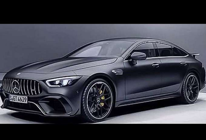 amg gt 4 portes image en fuite moniteur automobile. Black Bedroom Furniture Sets. Home Design Ideas