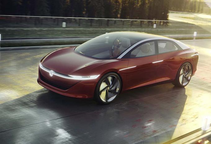 Volkswagen I.D. Vizzion: Voir au-delà de la Tesla Model S #1