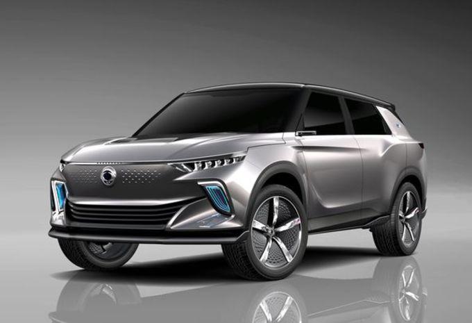 Gims 2018 – SsangYong e-SIV : futur SUV électrique #1