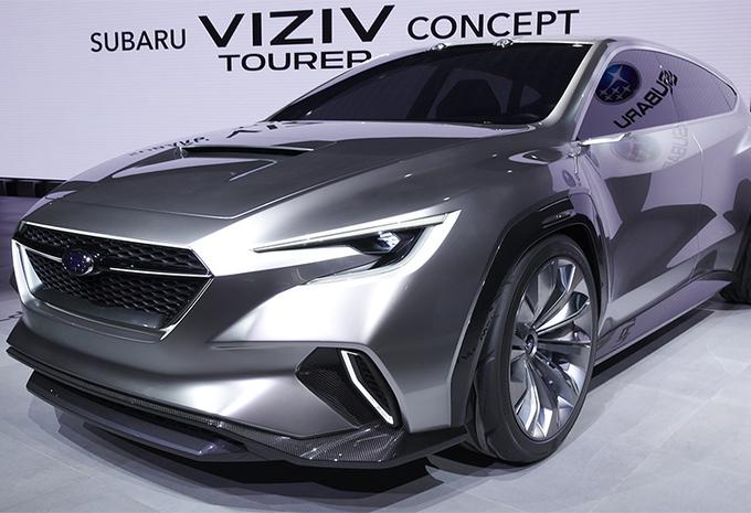 Is de Subaru Viziv Tourer de opvolger van de Levorg? #1