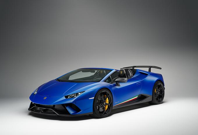 Gims 2018 – Lamborghini Hurácan Spyder Performante : mélange des genres #1