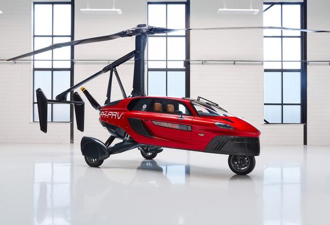 Gims 2018 – Pal-V Liberty vliegt over de weg heen #1