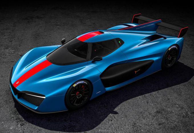 Gims 2018 – Pininfarina H2 Speed : 12 exemplaires, à hydrogène, pour la piste ! #1