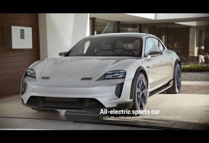 Porsche Mission E Cross Turismo : démo en vidéo #1