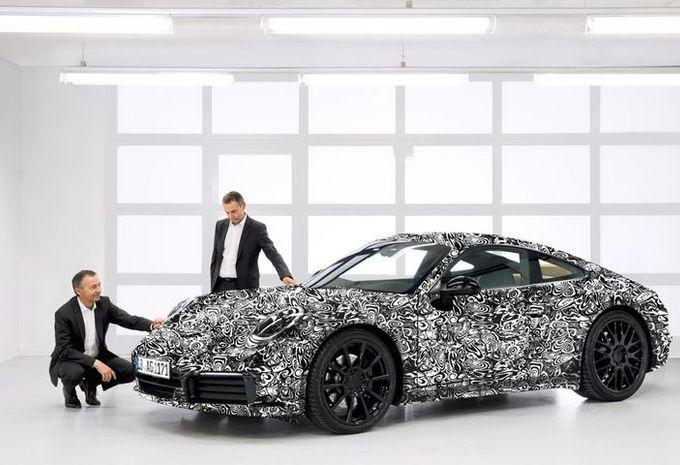 Porsche 911 hybride rechargeable : jusqu'à 700 ch ! #1
