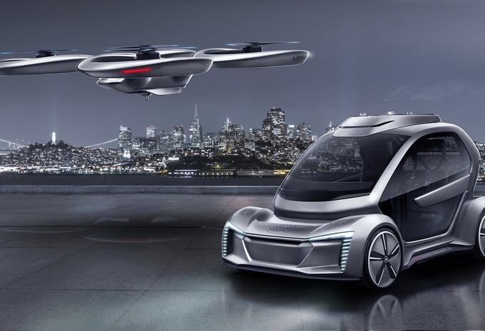 Porsche wil ook een vliegende auto #1