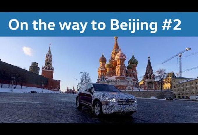 VIDEO – Volkswagen Touareg: het aftellen is begonnen #1