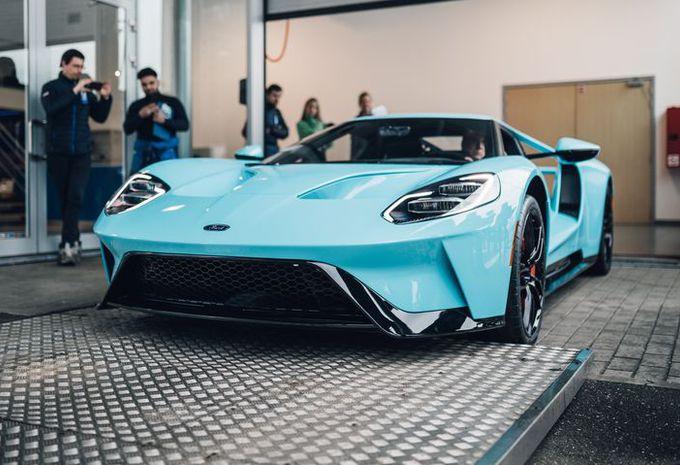 Ford Gt Eerste Belgische Exemplaar Geleverd Autogids