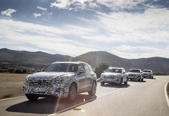 Nieuwe Volkswagen Touareg trekt naar China #1