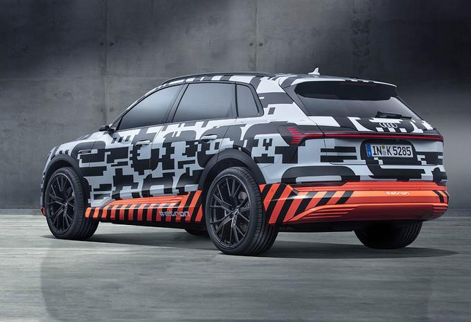 In België gebouwde Audi E-Tron krijgt een prijskaartje #1