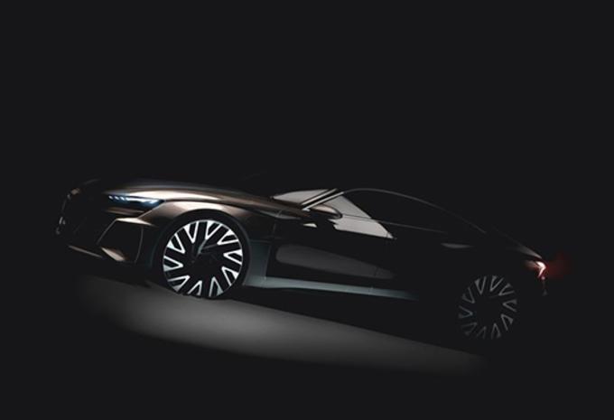 Audi e-Tron GT : Mission E à anneaux #1