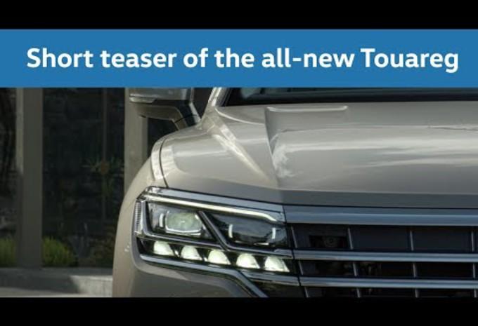 Volkswagen Touareg: eerste videobeelden #1