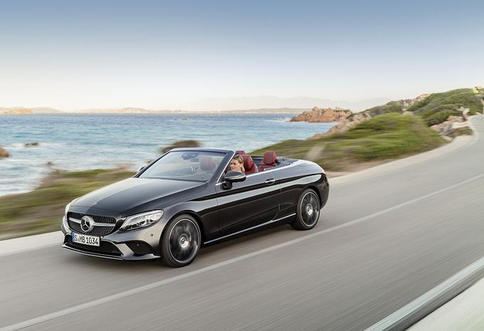 Mercedes-Benz Classe C : évolutions notables pour le Coupé et le Cabriolet #1