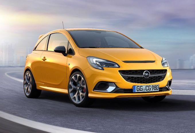 Opel Corsa GSi : châssis OPC #1