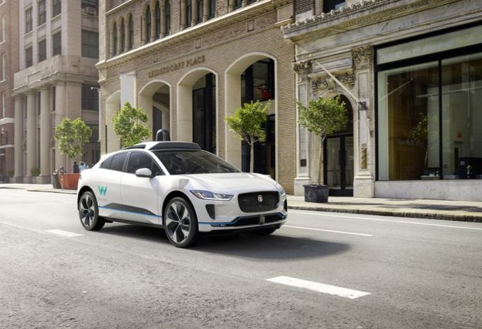 Voitures autonomes: Jaguar s'allie à Waymo (Google)