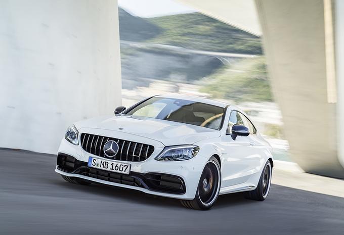 Vernieuwde Mercedes-AMG C63 haalt hogere topsnelheid #1