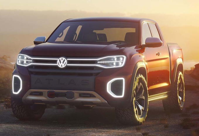 NYIAS 2018 – Volkswagen Atlas Tanoak : Amarok américain #1