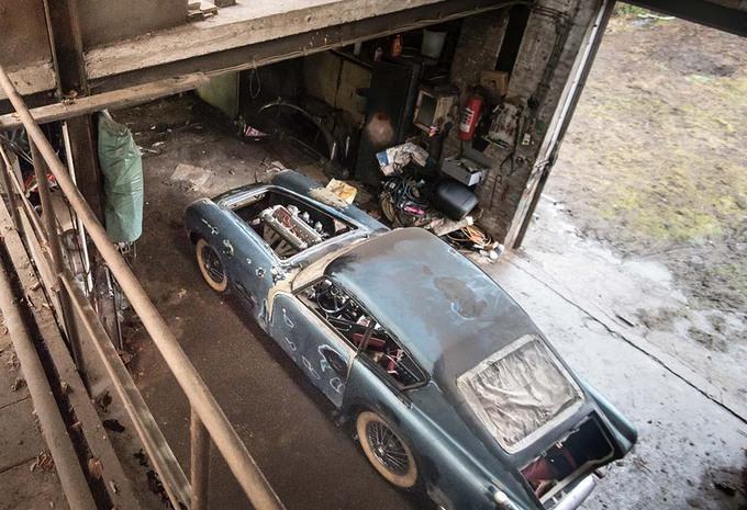 photos insolite jaguar une xk140 gantoise est elle brigitte bardot moniteur automobile. Black Bedroom Furniture Sets. Home Design Ideas