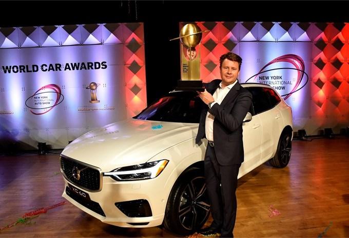 Volvo XC60 : voiture mondiale de l'année #1