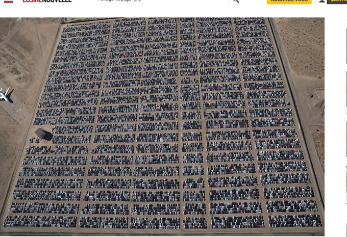 VIDÉO – Dieselgate : Le cimetière américain de Volkswagen #1