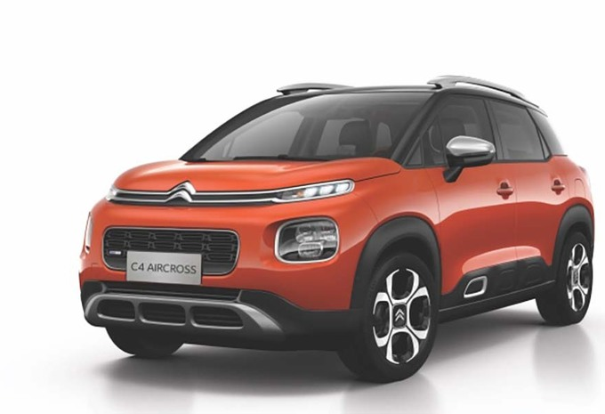 citroen c4 aircross une rallonge pour la chine moniteur automobile. Black Bedroom Furniture Sets. Home Design Ideas