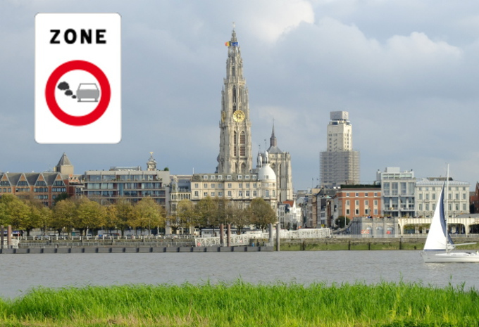 Anvers : 81.000 PV pour la LEZ #1