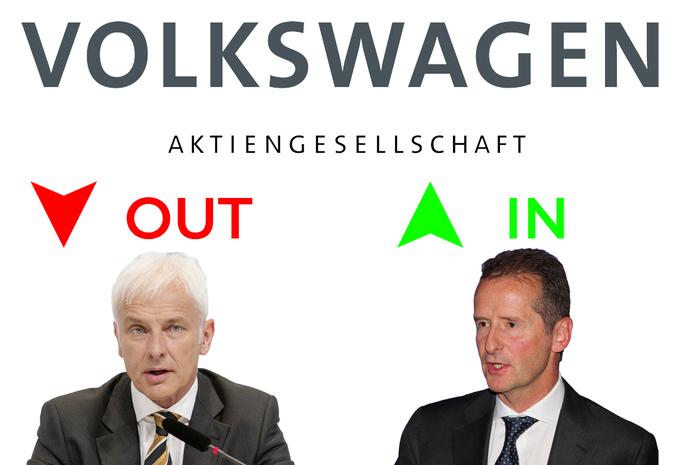Herbert Diess vervangt Matthias Müller als CEO VW Group #1
