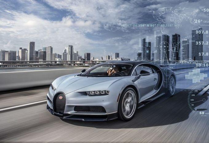 Bugatti Chiron: geconnecteerde telemetrie #1